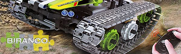 3d4f1642 6205 4e70 8c70 78bebed1ff40. CR0,0,800,240 PT0 SX600   - Remote Control Car Building Kit - RC Tracked Racer 3 in 1 Building Set, Fun, Educational, Learning, STEM Toys, Best Gift for Kids Age 8-12, 14 Year Old Boys and Girls (353pcs)