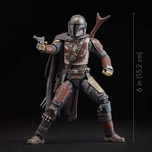 """41+RVJ+yRRL. AC  - Star Wars The Black Series The Mandalorian Toy 6"""" Scale Collectible Action Figure, Toys for Kids Ages 4 & Up"""