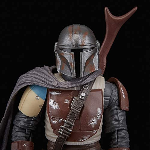 """41+V4ygdXiL. AC  - Star Wars The Black Series The Mandalorian Toy 6"""" Scale Collectible Action Figure, Toys for Kids Ages 4 & Up"""