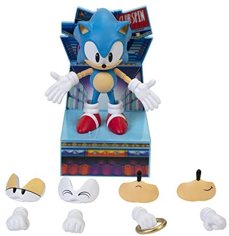 """41+axmLWXlL. AC  - Sonic The Hedgehog Ultimate 6"""" Sonic Collectible Action Figure"""