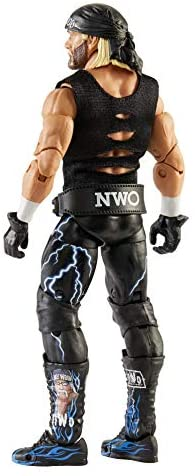 41097xUgwZL. AC  - WWE Ultimate Edition Wave 7 Hollywood Hogan Action Figure 6 in with Interchangeable Entrance JacketLanternExtra Head and Swappable Hands for Ages 8 Years Old and Up