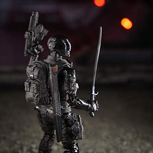410DMWcgIaL. AC  - G.I. Joe Classified Series Snake Eyes Action Figure 02 Collectible Premium Toy with Multiple Accessories 6-Inch Scale with Custom Package Art
