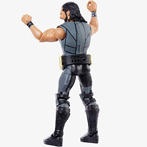 410v1UXE80L. AC  - WWE Elite Collection Then Now Forever Seth Rollins Action Figure (with WWE Championship Belt)