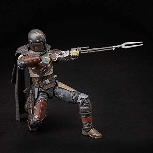 """412ANFcLD+L. AC  - Star Wars The Black Series The Mandalorian Toy 6"""" Scale Collectible Action Figure, Toys for Kids Ages 4 & Up"""