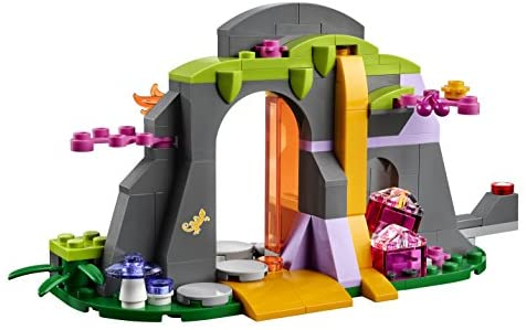 414O66zm2ZL. AC  - LEGO Elves Fire Dragon's Lava Cave 41175 Creative Play Toy for 8- to 12-Year-Olds