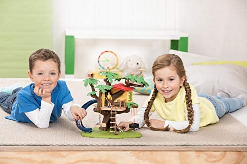 414ougKee7L. AC  - Schleich Farm World Adventure Tree House 28-piece Farm Playset for Kids Ages 3-8