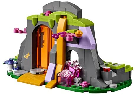 415ltTU4B4L. AC  - LEGO Elves Fire Dragon's Lava Cave 41175 Creative Play Toy for 8- to 12-Year-Olds