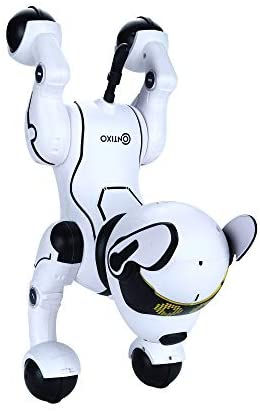 417ozrDaQrL. AC  - Contixo R4 IntelliPup Robot Dog, Walking Pet Toy Robots for Kids, Remote Control, Interactive & Smart Dancing Dance, Voice Commands, RC Dog for Gift Toy for Girls & Boys Ages 2,3,4,5,6,7,8,9,10 Years