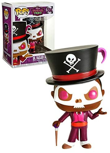 417uLgqKiAL. AC  - POP! Disney - Dr. Facilier Masked #508 Exclusive (boxlunch Sticker)