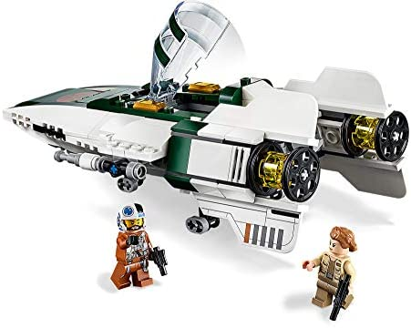 418ZxaZ5joL. AC  - LEGO Star Wars: The Rise of Skywalker Resistance A Wing Starfighter 75248 Advanced Collectible Starship Model Building Kit (269 Pieces)