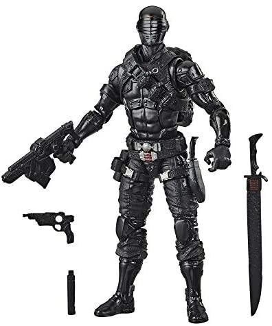 41CTngLt9pL. AC  - G.I. Joe Classified Series Snake Eyes Action Figure 02 Collectible Premium Toy with Multiple Accessories 6-Inch Scale with Custom Package Art