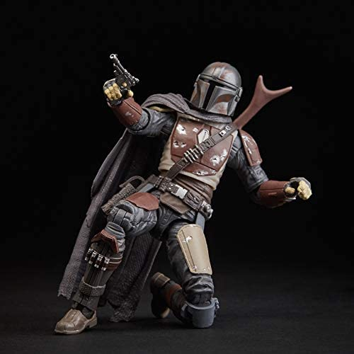 """41D+u hZajL. AC  - Star Wars The Black Series The Mandalorian Toy 6"""" Scale Collectible Action Figure, Toys for Kids Ages 4 & Up"""