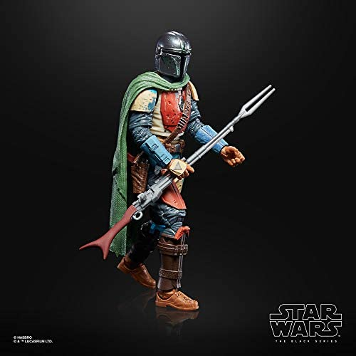 41FUmnEk0RL. AC  - Star Wars The Black Series Credit Collection The Mandalorian Toy 6-Inch-Scale Collectible Action Figure (Amazon Exclusive)