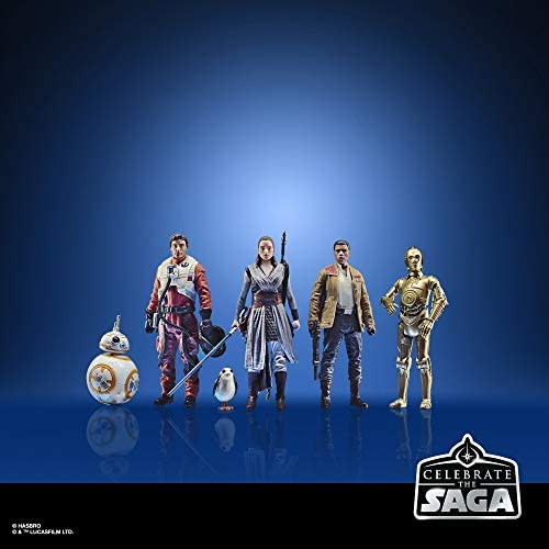 41KVYQeozxL. AC  - Star Wars Celebrate The Saga Toys The Resistance Figure Set, 3.75-Inch-Scale Collectible Action Figure 6-Pack (Amazon Exclusive)