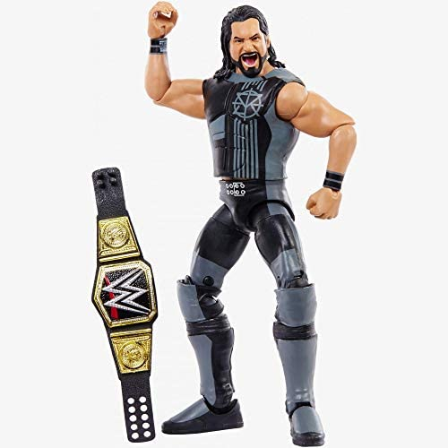 41LFynNB6eL. AC  - WWE Elite Collection Then Now Forever Seth Rollins Action Figure (with WWE Championship Belt)