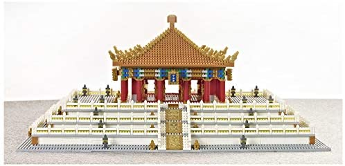 41MDsZkbK3L. AC  - XSHION World Famous Architecture Micro Diamond Building Blocks Set, 5866Pcs The Hall of Central Harmony Mini Building Bricks Model Engineering Toy Construction Set Toys Gift for Kids Adults