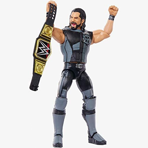 41NE+GYZKwL. AC  - WWE Elite Collection Then Now Forever Seth Rollins Action Figure (with WWE Championship Belt)