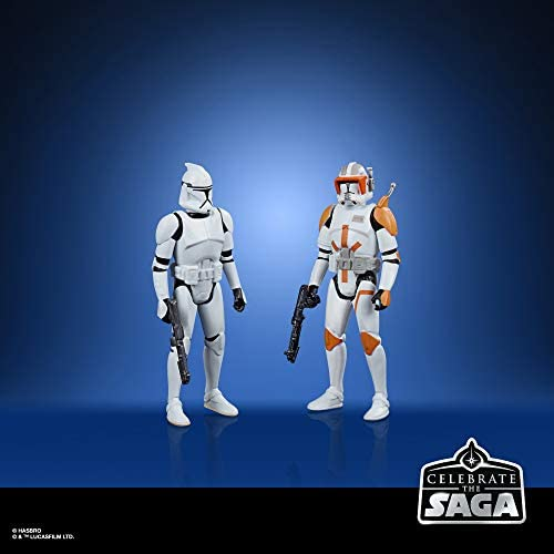 41NXK70q5fL. AC  - Star Wars Celebrate The Saga Toys Galactic Republic Figure Set, 3.75-Inch-Scale Collectible Action Figure 5-Pack for Kids Ages 4 and Up