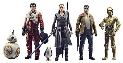 41UpuLVMr2L. AC  - Star Wars Celebrate The Saga Toys The Resistance Figure Set, 3.75-Inch-Scale Collectible Action Figure 6-Pack (Amazon Exclusive)