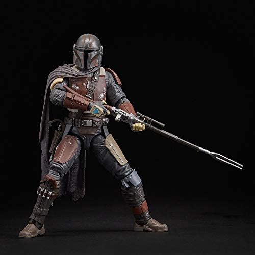 """41VDsyUL56L. AC  - Star Wars The Black Series The Mandalorian Toy 6"""" Scale Collectible Action Figure, Toys for Kids Ages 4 & Up"""