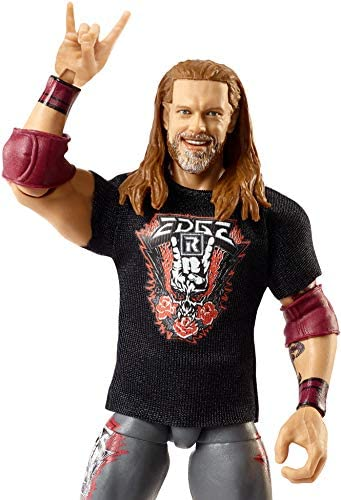41VTGbtQSEL. AC  - WWE Edge Elite Collection Series 83 Action Figure 6 in Posable Collectible Gift Fans Ages 8 Years Old and Up