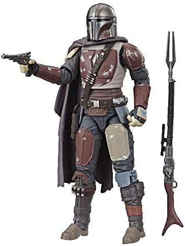 """41WCESueJDL. AC  - Star Wars The Black Series The Mandalorian Toy 6"""" Scale Collectible Action Figure, Toys for Kids Ages 4 & Up"""