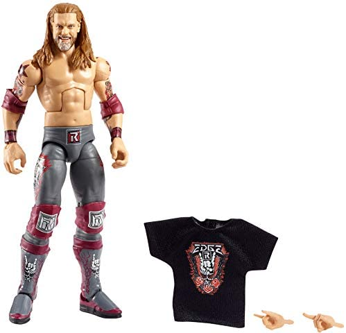 41Wf7+Q7eeL. AC  - WWE Edge Elite Collection Series 83 Action Figure 6 in Posable Collectible Gift Fans Ages 8 Years Old and Up