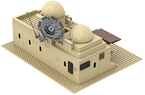 41YTGINYDxS. AC  - Tatooine Double Building (Slums) TAT02 Building Kit for for Boys,Building Blocks MOC Model Toy Building Sets Creative Valentines Day Gifts for Him(636 Pieces) (A)