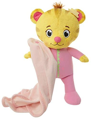 41arr6KGViL. AC  - Daniel Tiger's Neighborhood Cute and Cuddly Baby Margaret Plush Pink/Yellow
