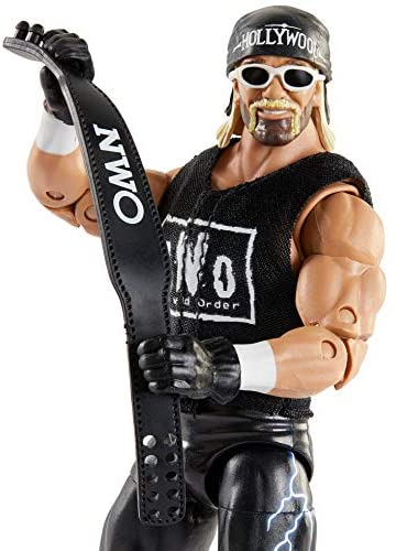 41btqicQ9IL. AC  - WWE Ultimate Edition Wave 7 Hollywood Hogan Action Figure 6 in with Interchangeable Entrance JacketLanternExtra Head and Swappable Hands for Ages 8 Years Old and Up