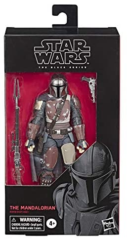 """41fFBoxOVQL. AC  - Star Wars The Black Series The Mandalorian Toy 6"""" Scale Collectible Action Figure, Toys for Kids Ages 4 & Up"""