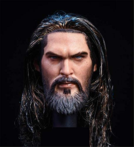 41fXRCgrZUL. AC  - HiPlay 1/6 Scale Male Figure Head Sculpt, Handsome Men Tough Guy , Doll Head for 12 inch Action Figure HS044 (A)