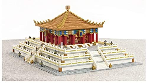 41fhzpPJ2GL. AC  - XSHION World Famous Architecture Micro Diamond Building Blocks Set, 5866Pcs The Hall of Central Harmony Mini Building Bricks Model Engineering Toy Construction Set Toys Gift for Kids Adults