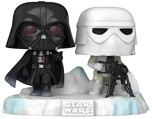 41hkwKm6OBL. AC  - Funko Pop! Deluxe: Star Wars Battle at Echo Base Series - Darth Vader and Snowtrooper Vinyl Figure, Amazon Exclusive, Figure 6 of 6