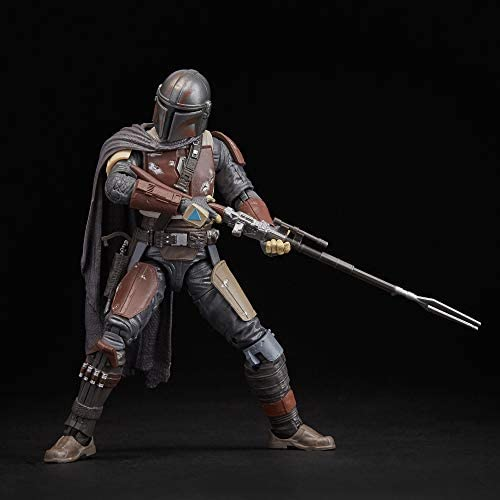 """41joAVaGr8L. AC  - Star Wars The Black Series The Mandalorian Toy 6"""" Scale Collectible Action Figure, Toys for Kids Ages 4 & Up"""