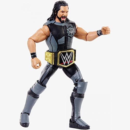 41m+Ermmd9L. AC  - WWE Elite Collection Then Now Forever Seth Rollins Action Figure (with WWE Championship Belt)