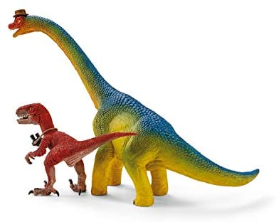 41nJcNoW28L. AC  - SCHLEICH Toy Dinosaur Research Station 33-Piece Playset for Kids Ages 4-12