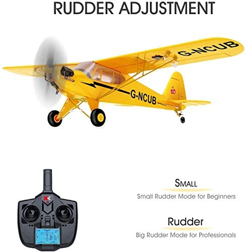 41pP4z0B8+L. AC  - iHobby RC Plane,4 Channel Remote Control Airplane Ready to Fly, 2.4Ghz RC Aircraft with Brushless Motor,RC Airplane for Adults and Advanced Kids