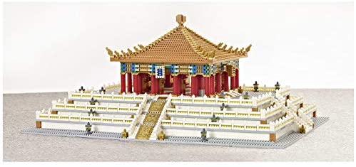 41t44YC9CbL. AC  - XSHION World Famous Architecture Micro Diamond Building Blocks Set, 5866Pcs The Hall of Central Harmony Mini Building Bricks Model Engineering Toy Construction Set Toys Gift for Kids Adults