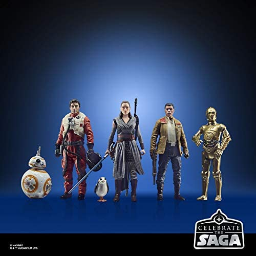 41twD6exy7L. AC  - Star Wars Celebrate The Saga Toys The Resistance Figure Set, 3.75-Inch-Scale Collectible Action Figure 6-Pack (Amazon Exclusive)