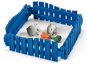 41ufBO92MAL. AC  - Schleich Farm World 27-piece Vet Practice Playset with Animal Toys for Kids Ages 3-8