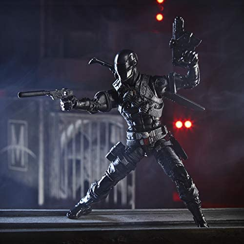 41vA0UF3qVL. AC  - G.I. Joe Classified Series Snake Eyes Action Figure 02 Collectible Premium Toy with Multiple Accessories 6-Inch Scale with Custom Package Art