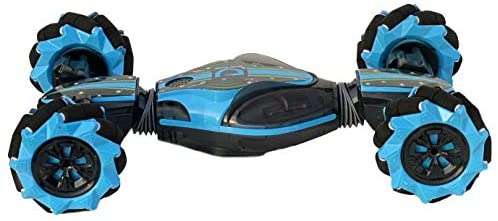 41vAU5y3EXL. AC  - Boxgear Gesture Sensing RC Stunt Car with Off-Road, Four-Wheel Drive, Sports Mode, 40 Min Standby Suitable for Any Terrain, 2.4G Gesture Controlled Double-Sided Remote-Control Car Toy for Kids, Blue