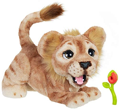 41wg oBl3zL. AC  - Hasbro Disney The Lion King Mighty Roar Simba Interactive Plush Toy, Brought to Life by Furreal, 100+ Sound &-Motion Combinations, Ages 4 & Up