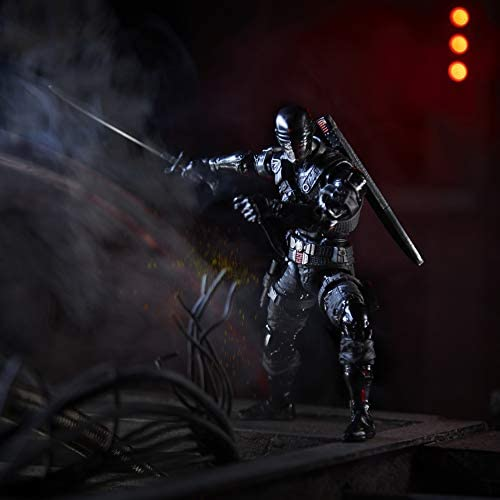 41xn+JRoslL. AC  - G.I. Joe Classified Series Snake Eyes Action Figure 02 Collectible Premium Toy with Multiple Accessories 6-Inch Scale with Custom Package Art