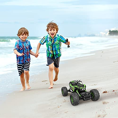 41zHpeCBpRS. AC  - DEVIVAE RC Cars 2059 Remote Control Car for Adults Kids, 1:12 Scale 15Km/h All Terrain Monster Trucks 4WD Off-Road 2.4GHz Rock Crawler with 80Mins Play, Vehicle Toy Ideal Gift for 6 7 8 9 10 Boy Girl