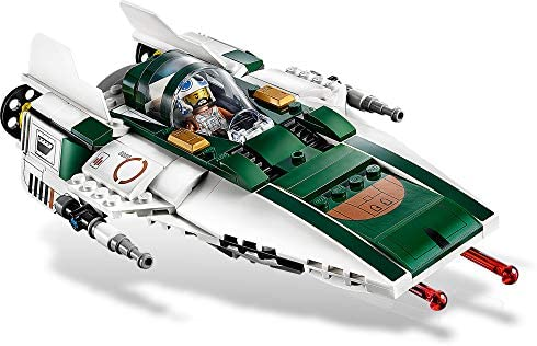 41zUyv2si2L. AC  - LEGO Star Wars: The Rise of Skywalker Resistance A Wing Starfighter 75248 Advanced Collectible Starship Model Building Kit (269 Pieces)