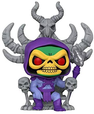 41zyBAu9eqL. AC  - Funko POP! Vinyl Retro Toys #68: Masters of The Universe Skeletor on Throne, Target Con 2021 Limited Edition Exclusive