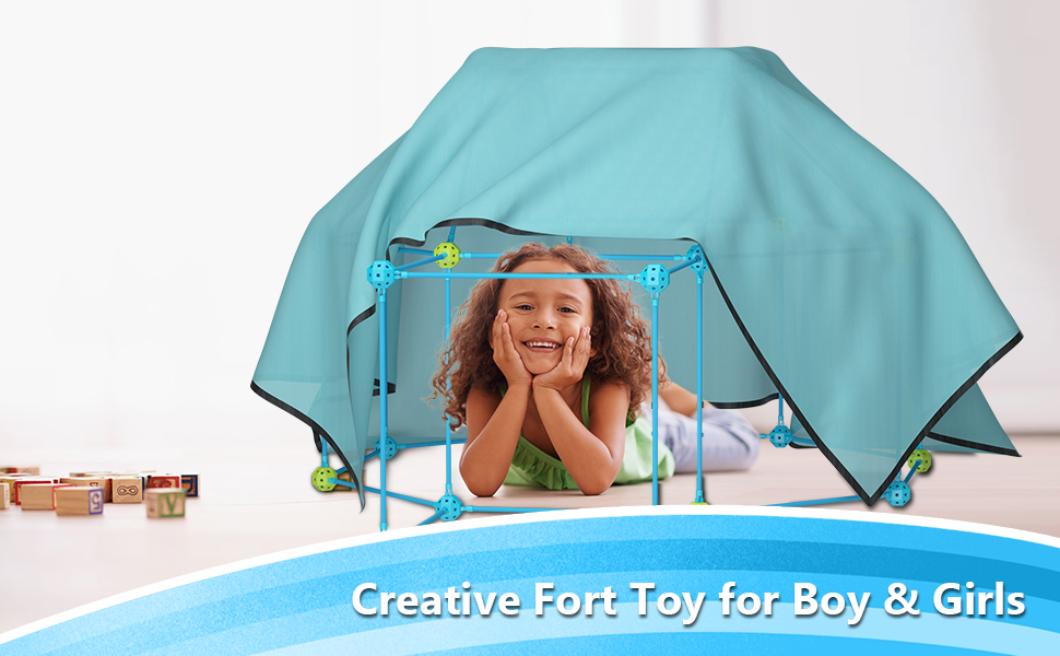 43445a2c 128a 4ef9 a864 4a03f1c4bbfa.  CR0,0,970,600 PT0 SX970 V1    - IROO Kids Fort Building Kit-150 Pieces DIY Building Castles Tents & Tunnels Toy with Blanket for Boys Girls-5 6 7 8 9 10 11 12 13-Portable Educational Learning Set for Indoor Outdoor Play