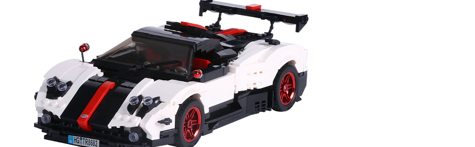 45fe37c3 e413 491e 8b85 f5f6c85a1d1f.  CR0,0,970,300 PT0 SX970 V1    - TOYSLY Mini Sports Car Zoda MOC Building Blocks and Construction Toy, Adult Collectible Model Cars Set to Build, 1:14 Scale Race Car Model (960 Pcs)